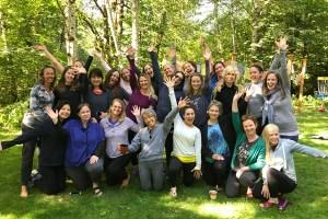 women's yoga retreat in Oregon September