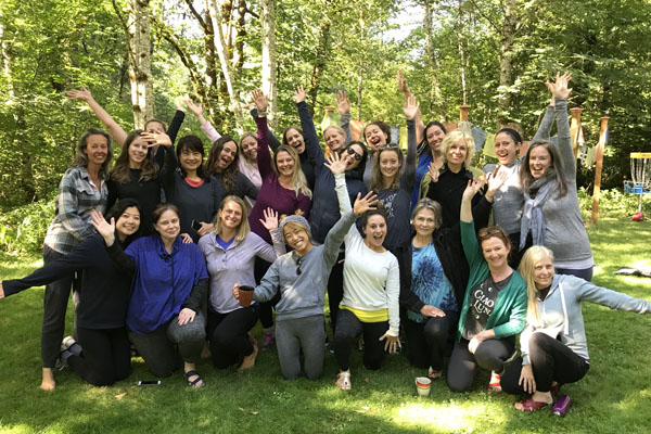 women's yoga retreat in Oregon September