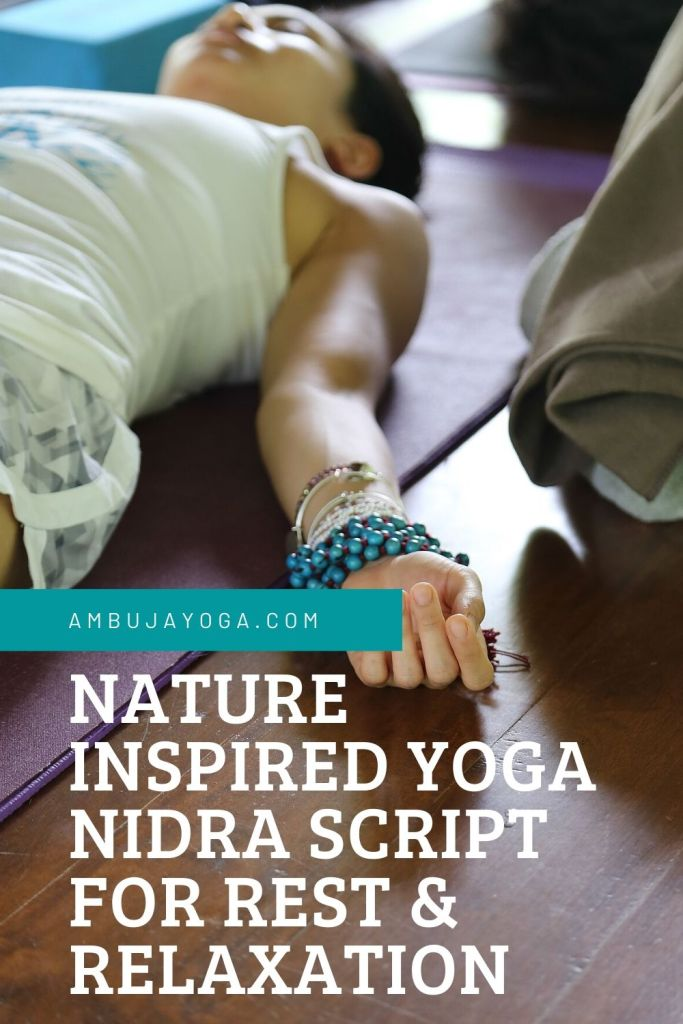 yoga nidra script for rest and relaxation