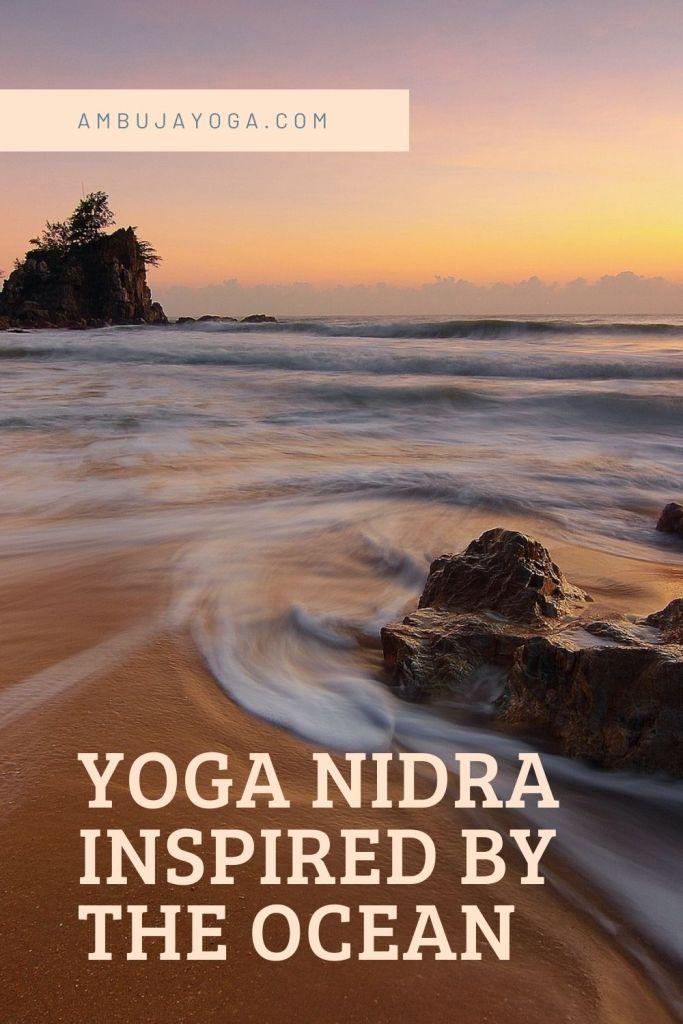 yoga nidra inspired by the ocean