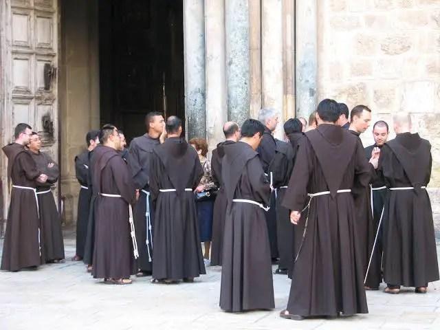 Catholic monks