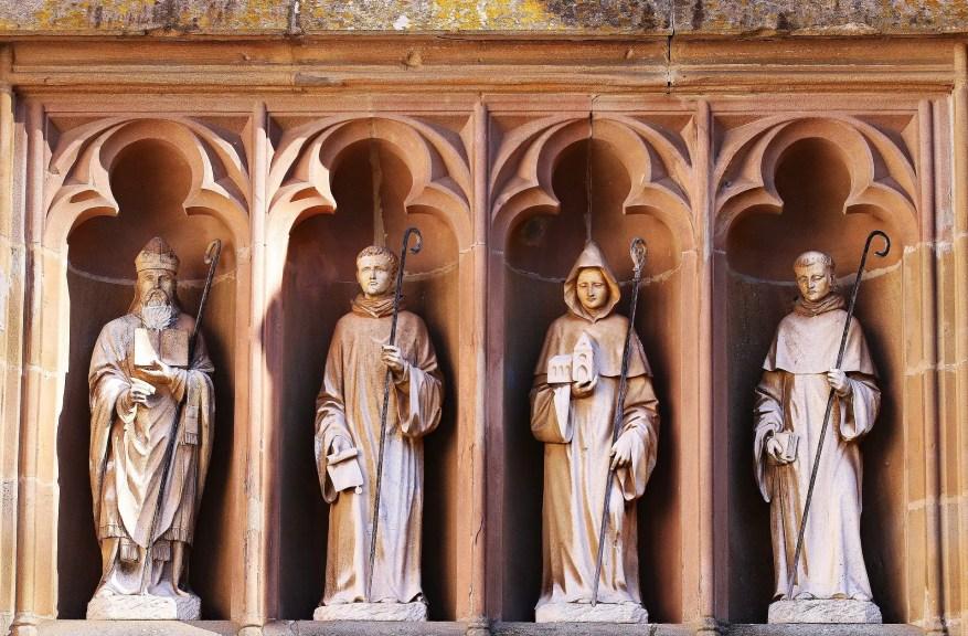 Saints in catholic church