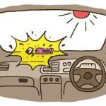 夏の車内の温度を下げる方法と車のエアコンのトラブルを避けるには?