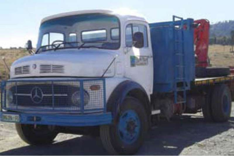 Used mercedes trucks for sale