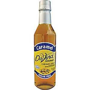 Da Vinci Sugar Free Caramel (750 ml)