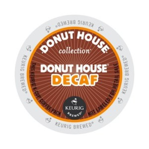 Donut House Decaf Coffee (24 Pack)