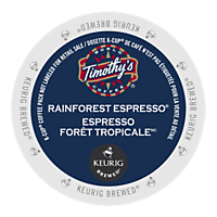 Timothy's Rainforest Espresso (24 Pack)