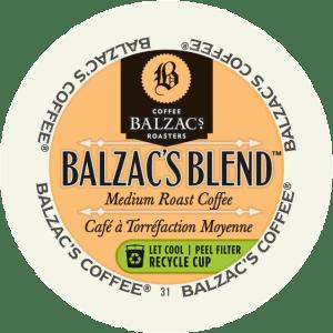 Balzac's Blend  (24 Pack K-Cups)