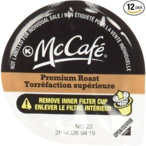 McCafé Decaf Premium Roast SSC Kraft POD