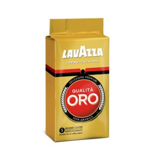 Lavazza Oro whole beans 1kg bag