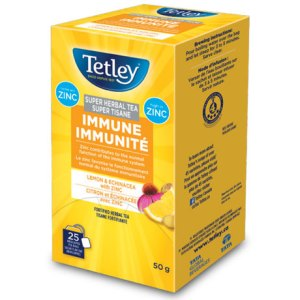 Tetley Super Herbal Tea Immune - Lemon & Echinacea with Zinc