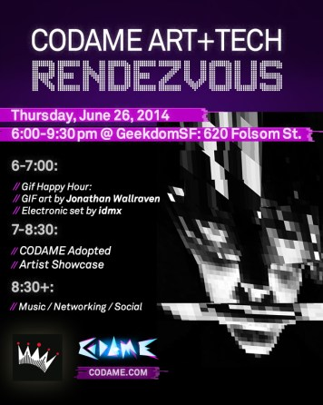 CODAME Art+Tech Rendezvous