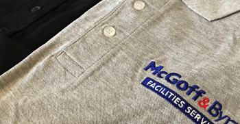 workwear and uniform embroidery
