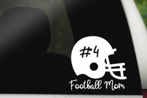 football helmet decal