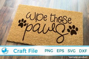 Wipe Those Paws!