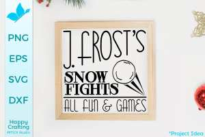 Jack Frost Snow Fights