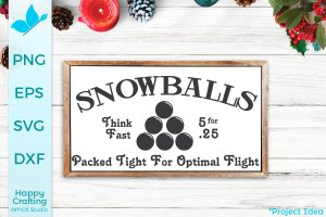 Snowballs – Packed Tight!