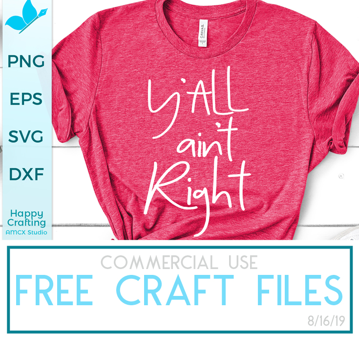 FREE Craft Files 8/16