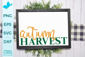 Autumn Harvest SVG