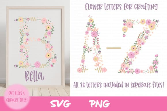 Nursery SVG Flower Clipart