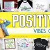 Positive Vibes Quote Bundle