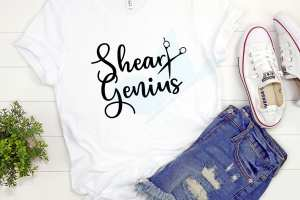 Shear Genius Women's Cosmetology Shirt