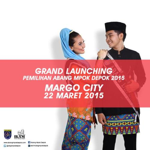 Grand-Launching-Pemilihan-Abang-Mpok-Depok-di-Margo-City-2015
