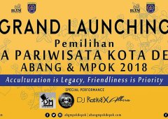 Grand Launching Pemilihan Duta Pariwisata Kota Depok Abang & Mpok 2018