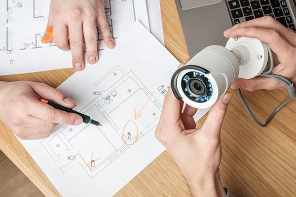 كاميرات المراقبة ونظام الشبكات