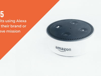 Product shot of Amazon's alexa