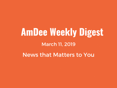 March 11 weekly digest