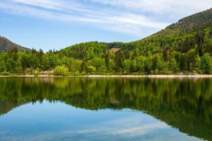 landscape, lake, nature