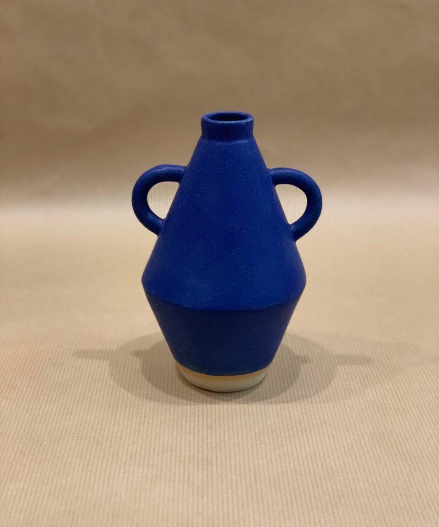 Sophie Alda - Vase Amphore bleue