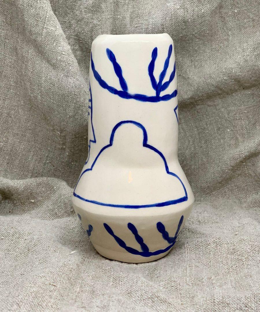 vase rocket sophie alda âme bordeaux