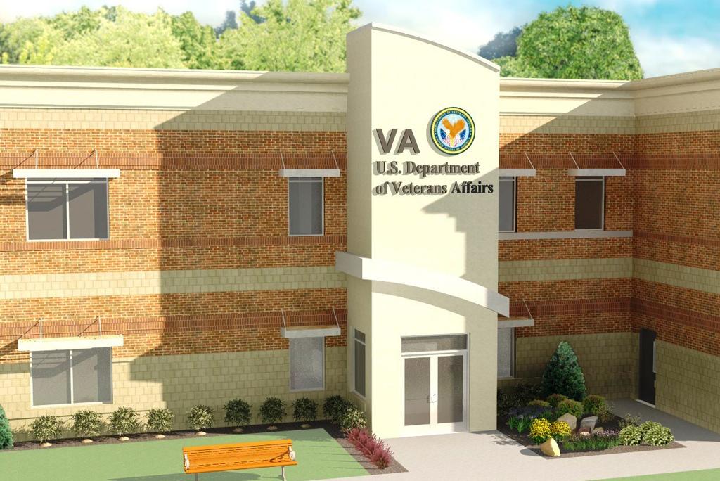 Exterior of Veterans Affairs Hospital