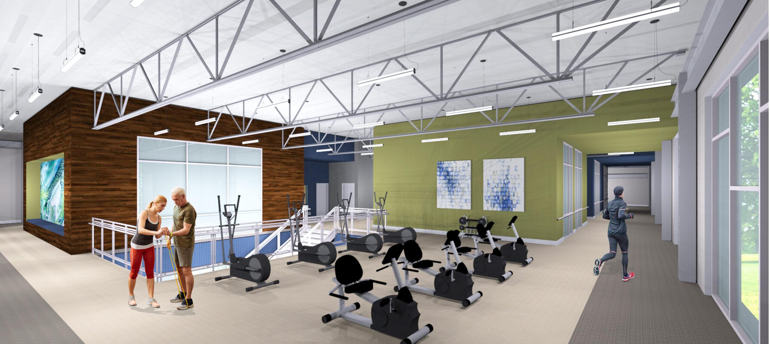 Glenaire Wellness Center Fitness Equipment