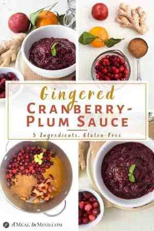 gingered cranberry plum sauce 4 image pin