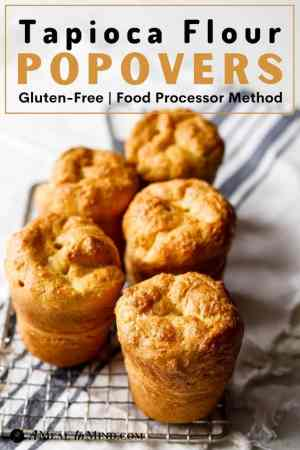 pinterest image for tapioca flour popovers on cooling rack