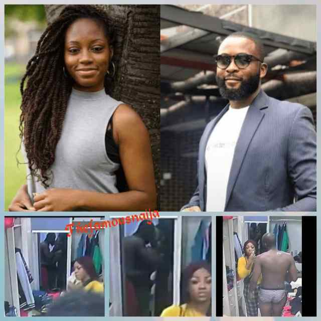 BBNaija 2019: Twitter VAR Caught Gedoni & Khafi Kissing While Tacha Insulted Mike (Pics)