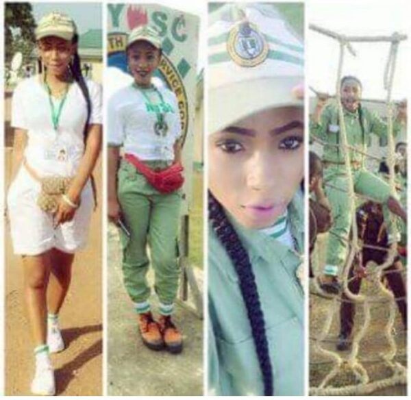 BBNaija: Photos Of Mercy During Her NYSC