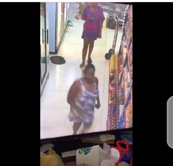 Two Slay Queens Caught On Camera Shoplifting A Store