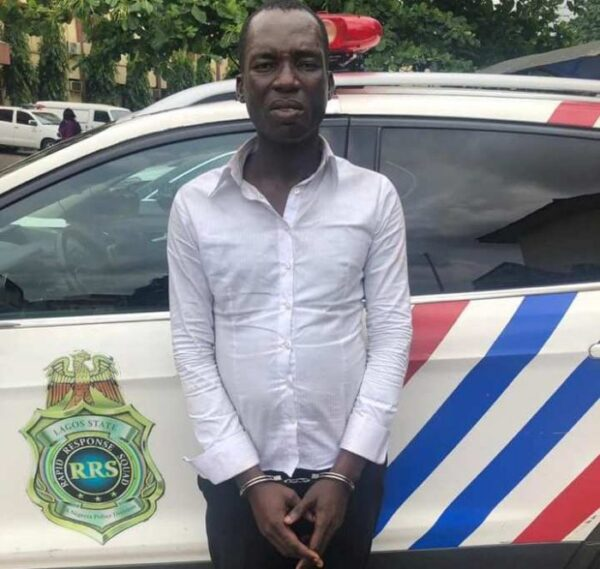 Fake Pastor Arrested For Duping Women In Lagos (Photo)