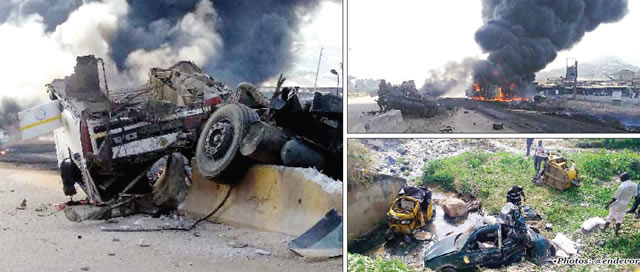 Eight persons die in Kogi petrol tanker crash