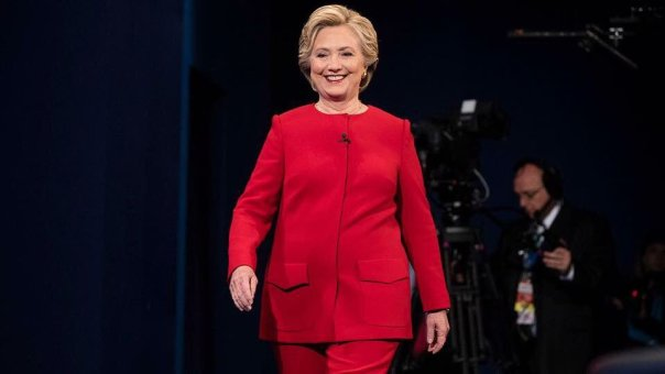 Hillary Clinton dressed up like Suge Knight