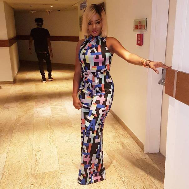 Basketmouth's Wife Elsie Okpocha Puts Her Curves On Display