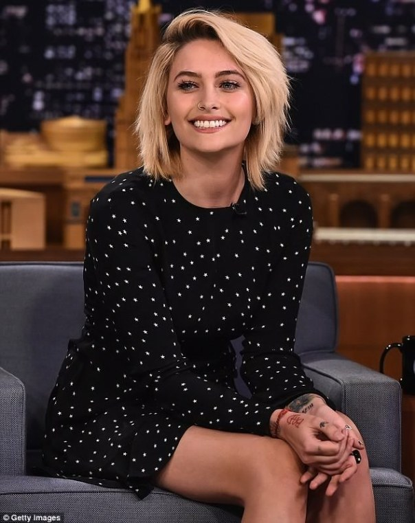 Paris Jackson Is Absolutely Gorgeous In Patterned Mini Dress