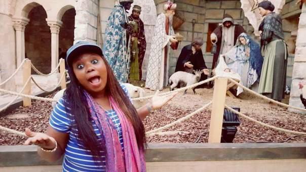 Nigerian Lady Toyosi Akerele-Ogunsiji Has Visited The Birth Place Of Jesus