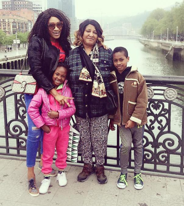 Nollywood Star Oge Okoye Shares Family Photo While Wishing Fans Happy Easter 1