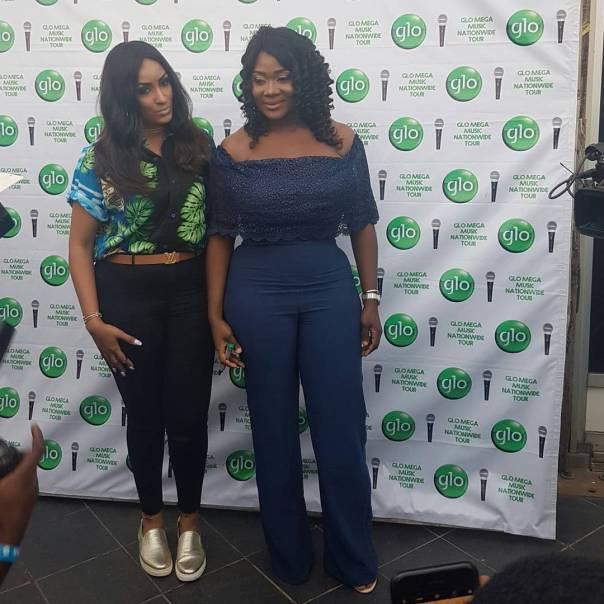 Mercy Johnson And Juliet Ibrahim Share Stunning Photos From Glo Music Tour Asaba 1