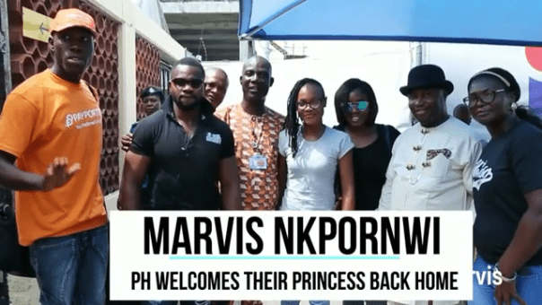 Port Harcourt Welcomes Their Princess Back As Marvis Nkpornwi Heads To The Eleme Kingdom 1